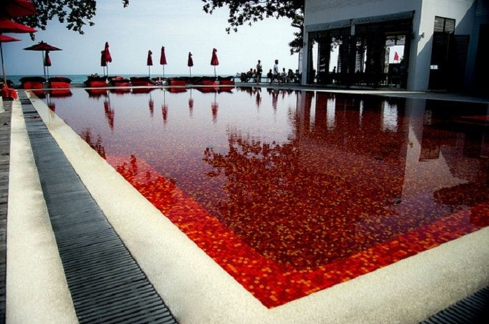 Coolest Pools Red Pool