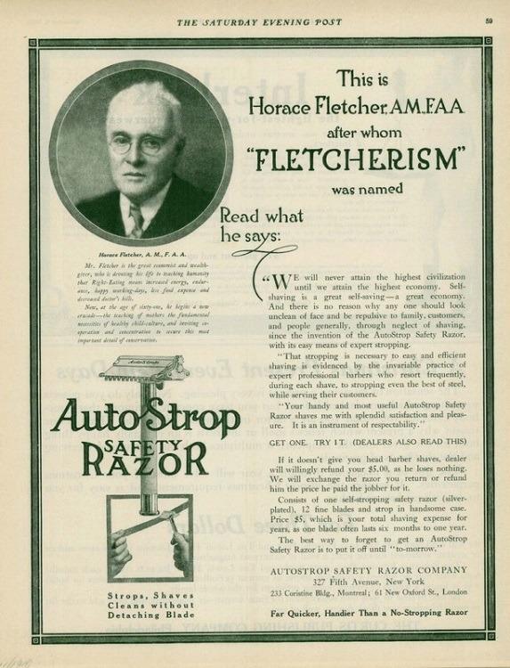 Fad Diets Fletcher Article