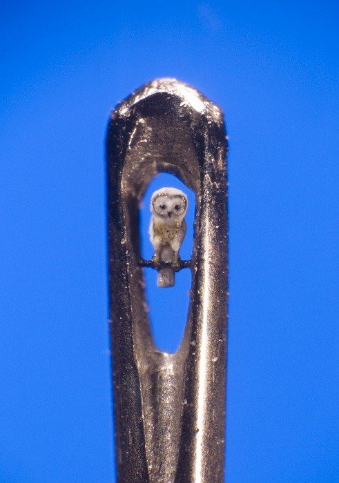 Micro Art Owl