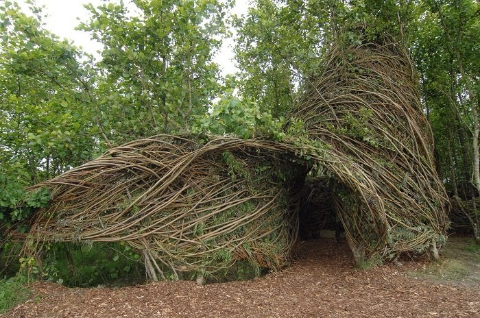 Patrick Dougherty Tree Home