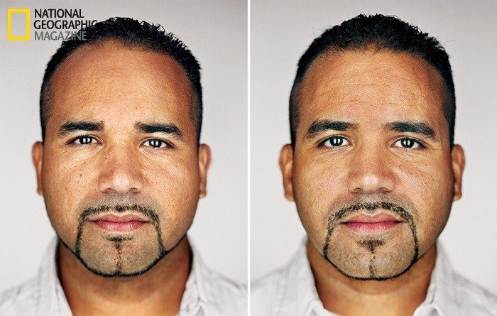 Contemporary Portrait Series Twins Men
