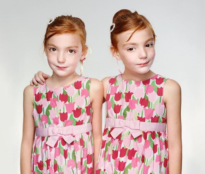 Contemporary Portrait Series Twins Winning Photo
