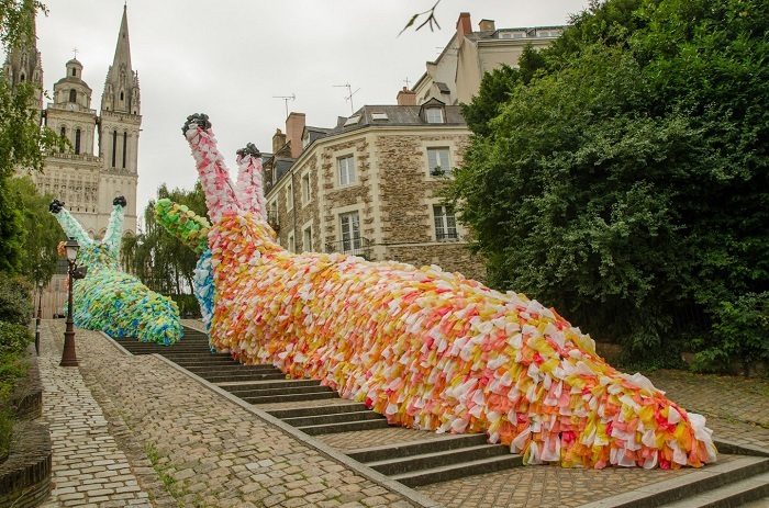Public Art Slow Slugs