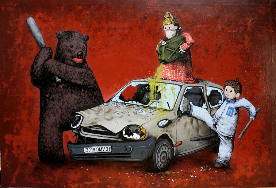 Awesome Street Art Of French Banksy