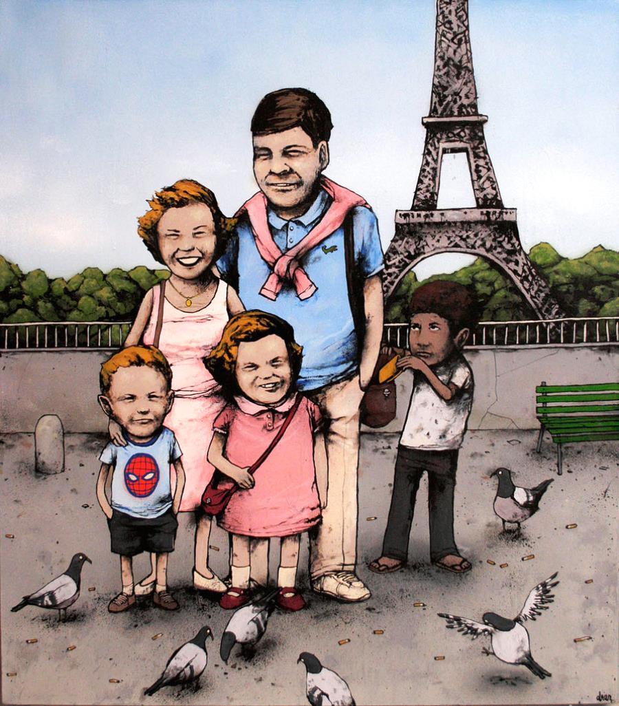 Dran At The Eiffel Tower