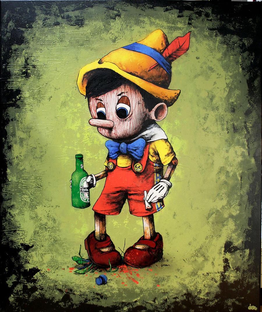 Grown Up Pinocchio