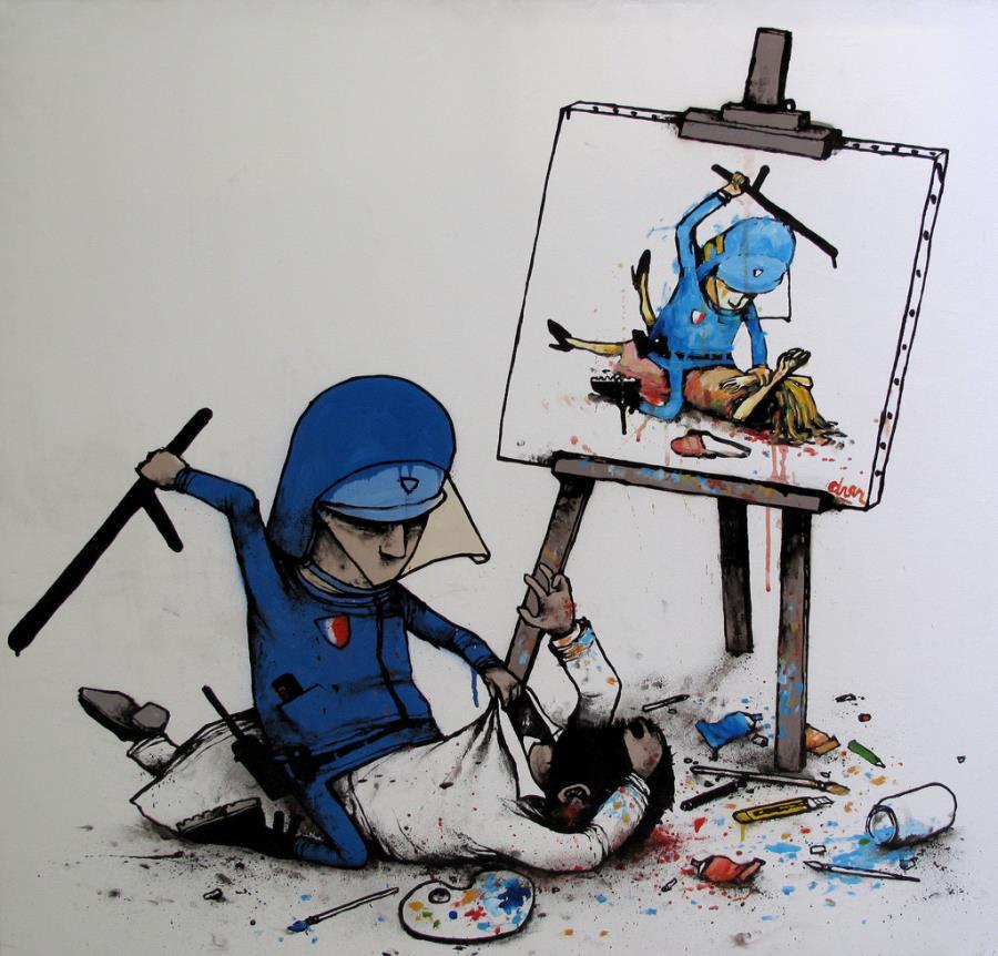 Street Art Of Dran