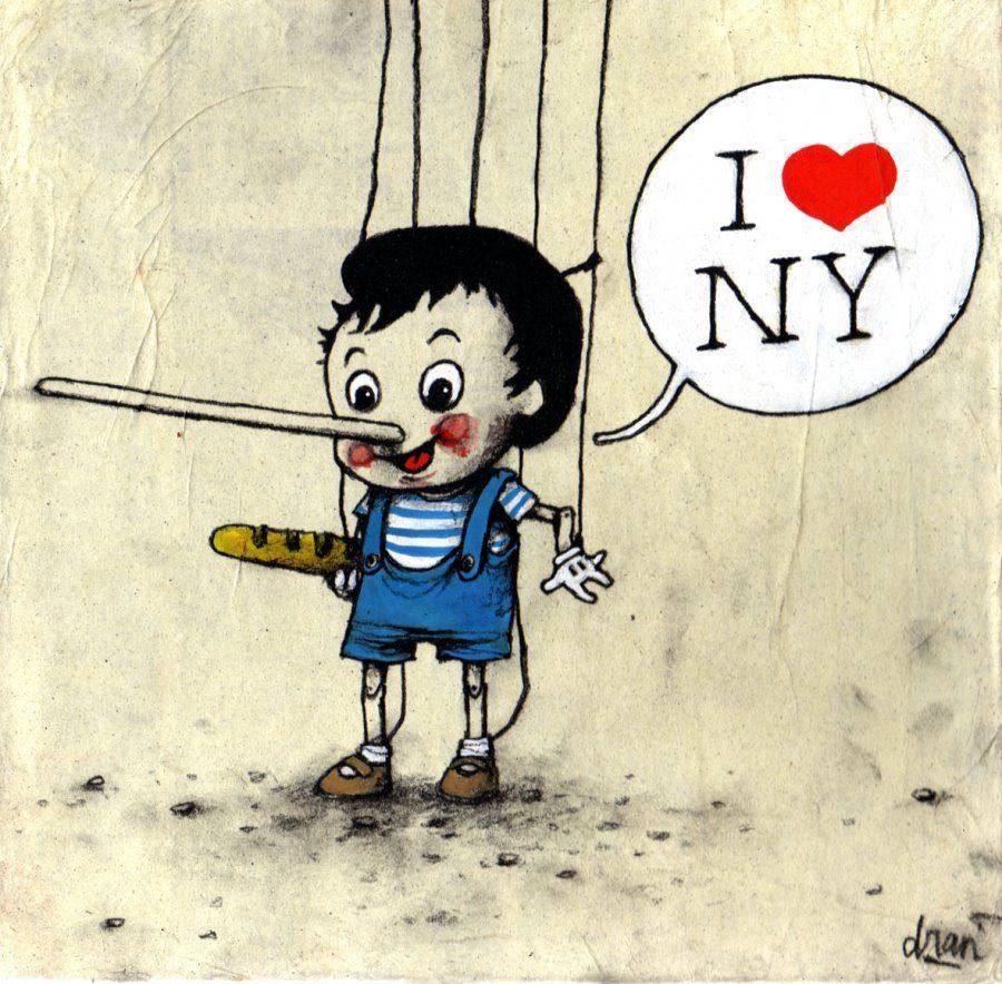 Pinocchio Loves New York City