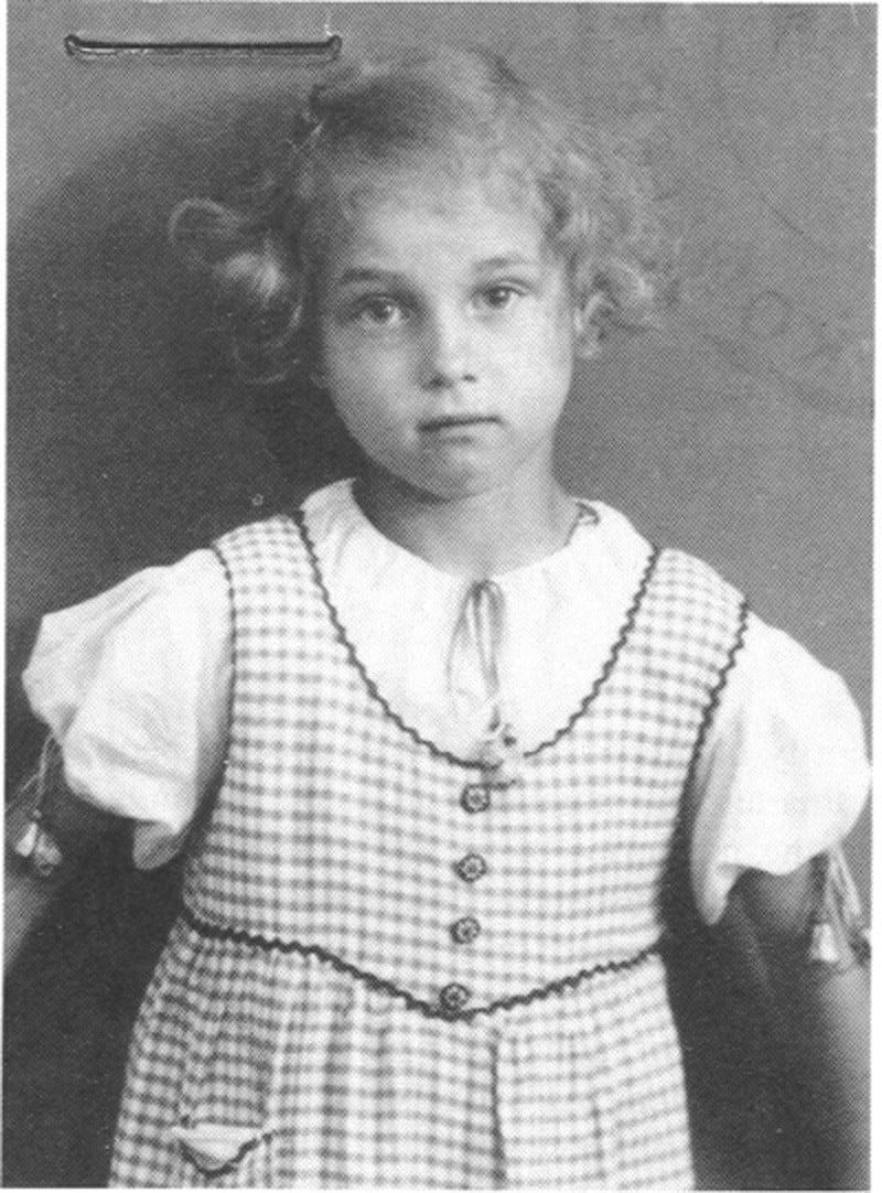 August Landmesser Ingrid Portrait