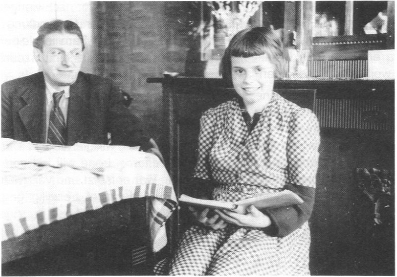 August Landmesser And Irene Foster