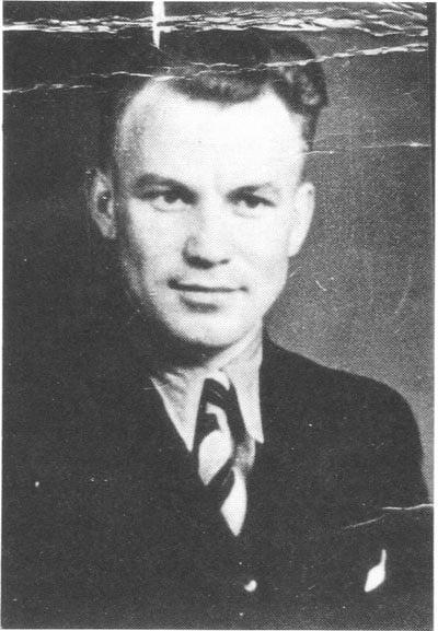 August Landmesser Portrait