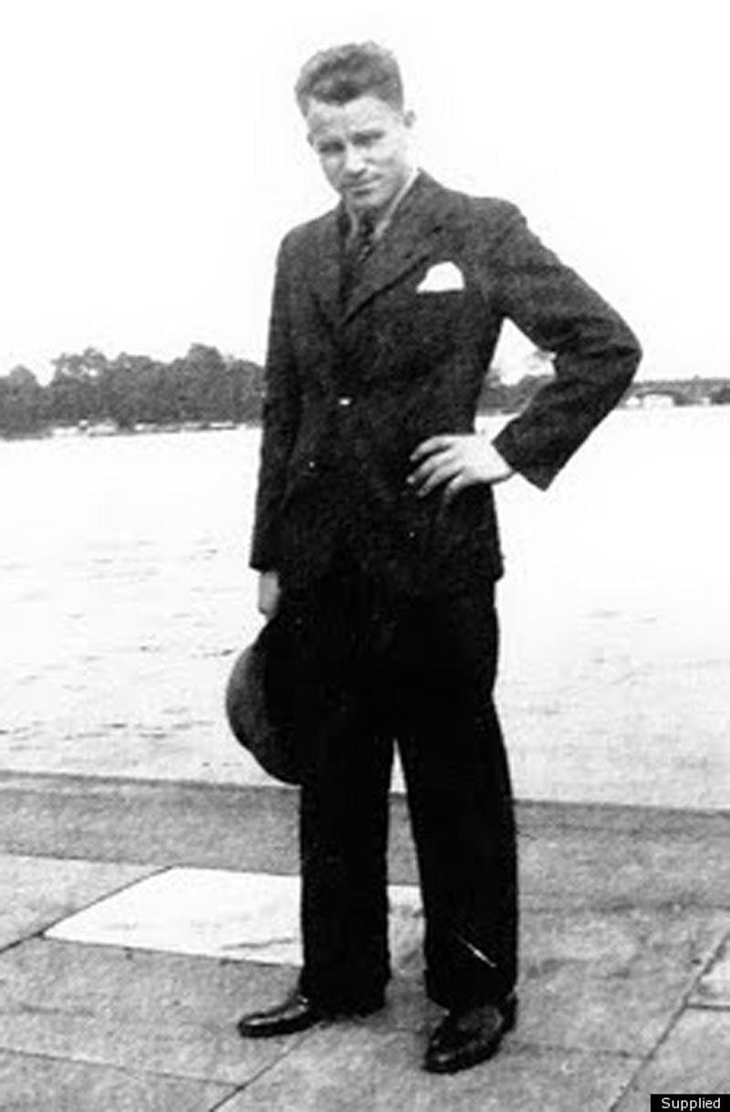 August Landmesser In Uniform