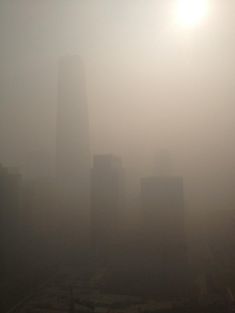 Capturing The Beijing Smog