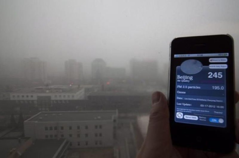 Photographs Of The Beijing Smog
