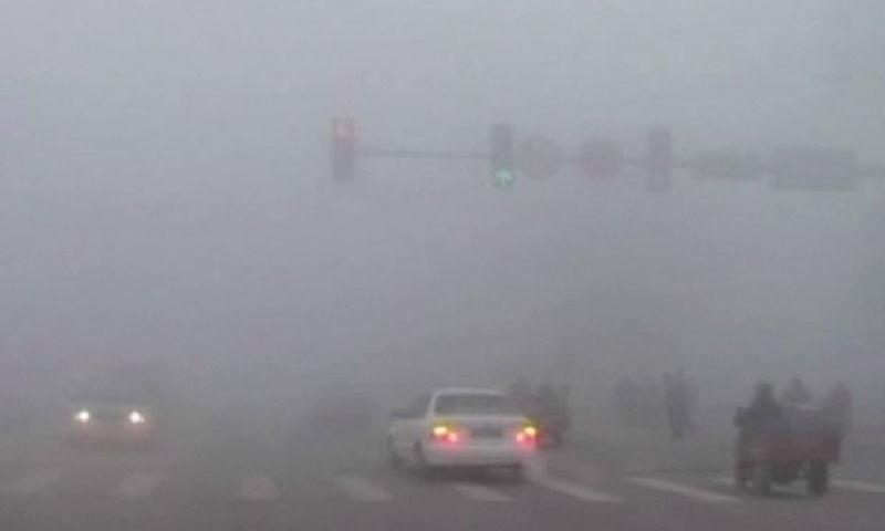 Beijing Smog Pictures