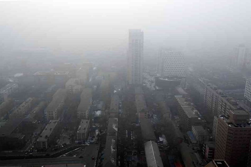 Beijing Air Pollution Photo