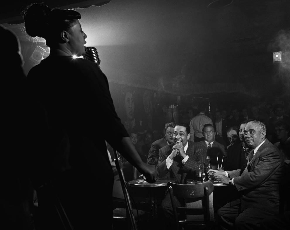 Ella Fitzgerald Duke Ellington Benny Goodman NYC 1948