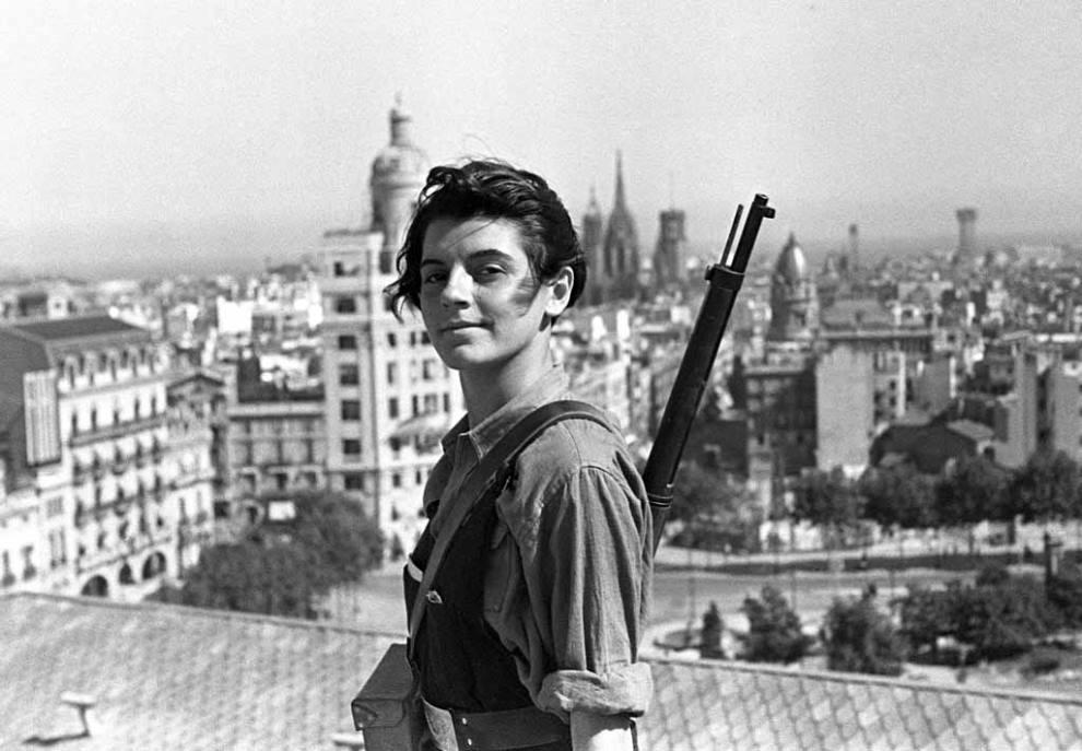 Marina Ginèsta Spanish Civil War