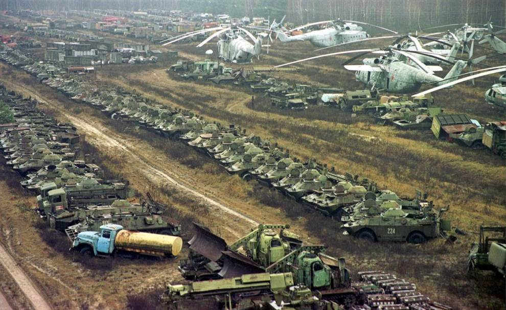 Radioactive Vehicles Chernobyl