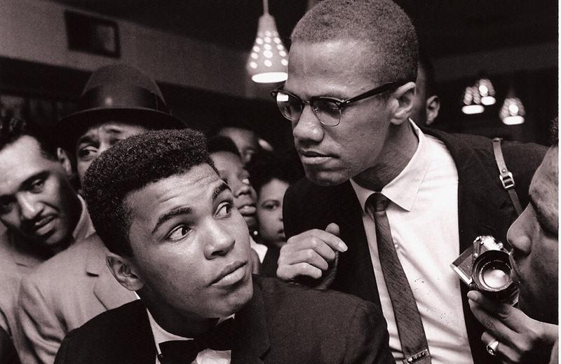 Solo Protests Muhammad Ali Malcolm X