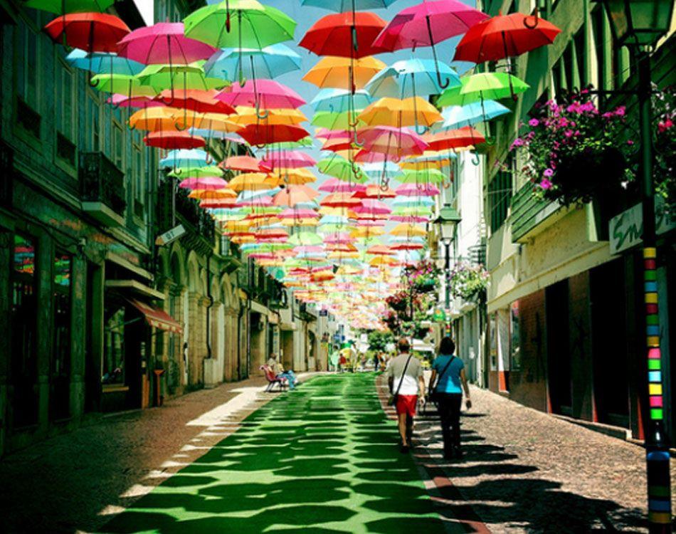 Incredible Umbrella Designs Portugal