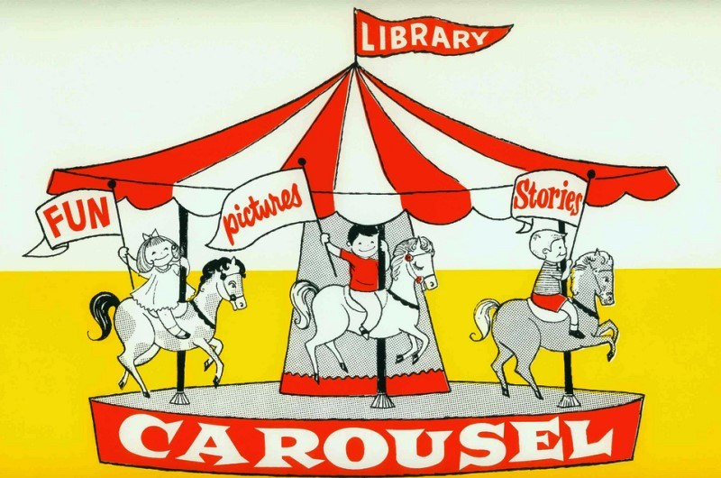 Amazing Vintage Library Ads Carousel