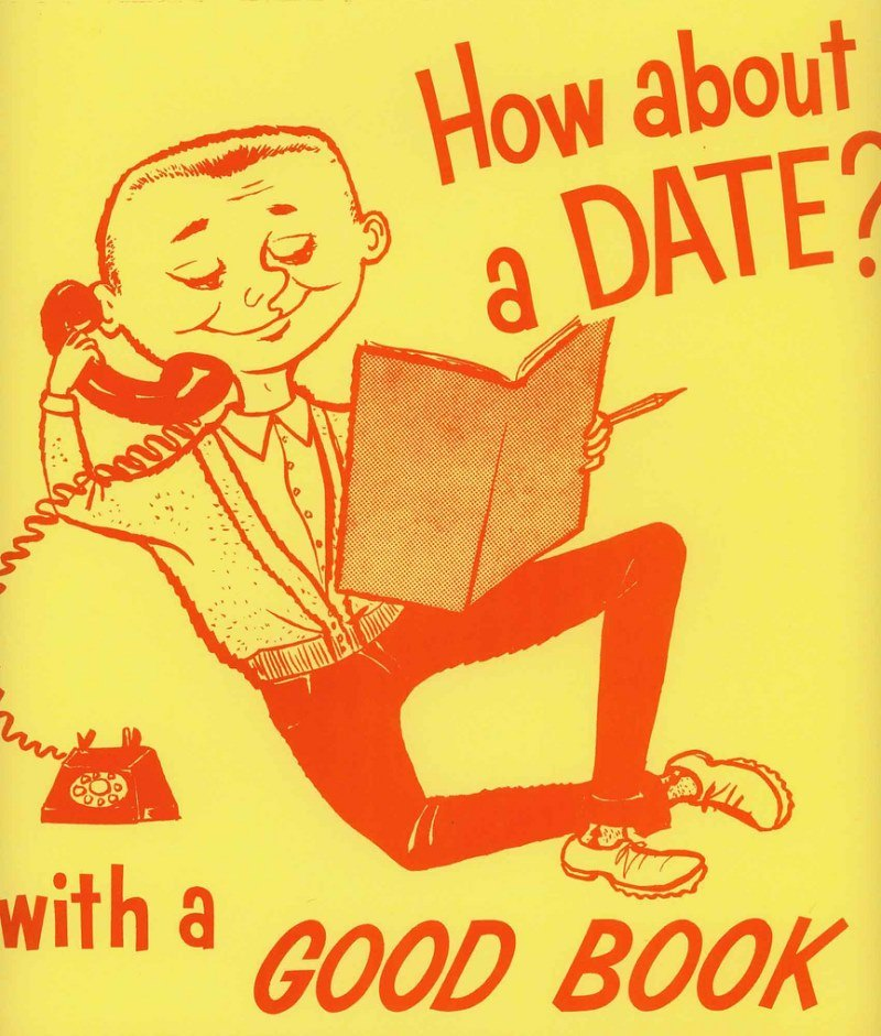 Date With A Book Poster