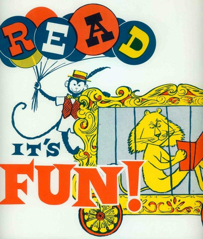 Read It's Fun Vintage Ad