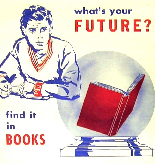 What's Your Future Library Ad