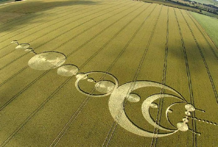 Real Crop Circles