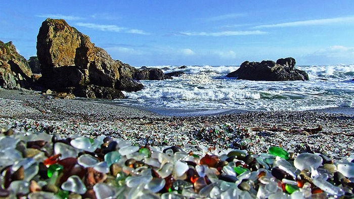 Glass Beach Beautiful