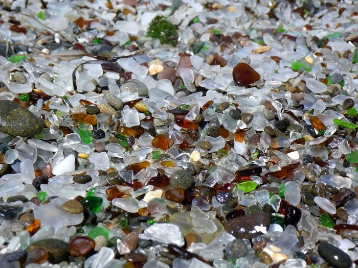 Glass Beach Glass