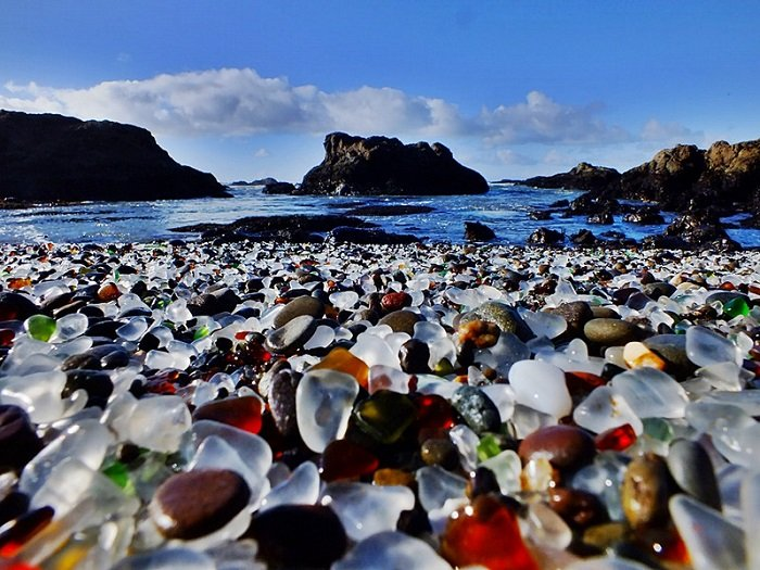 Glass Beach Looking Out