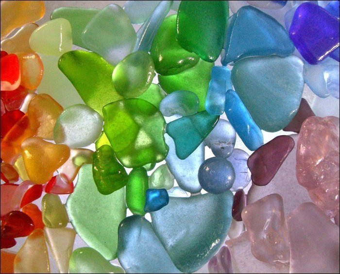 Rare Sea Glass Colors