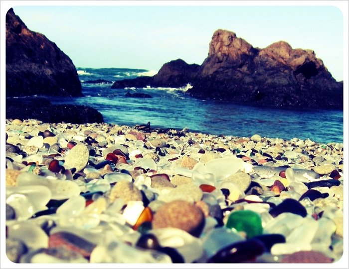 Glass Beach Vintage Look