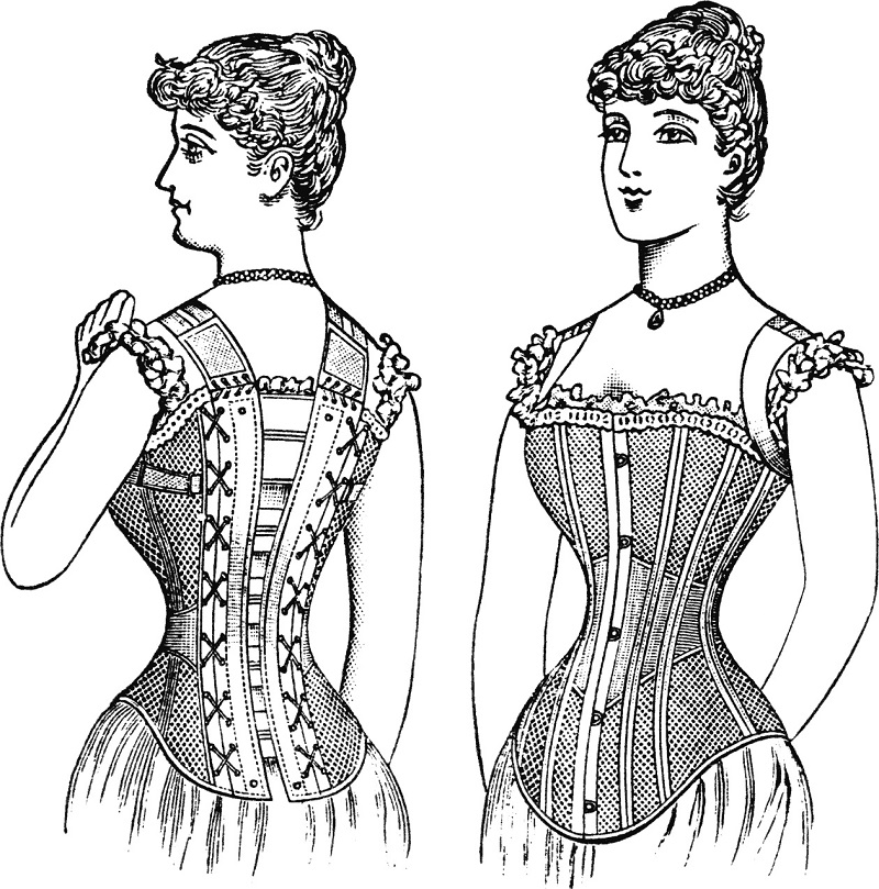 Cruel Women's Fashions Corset Ideal