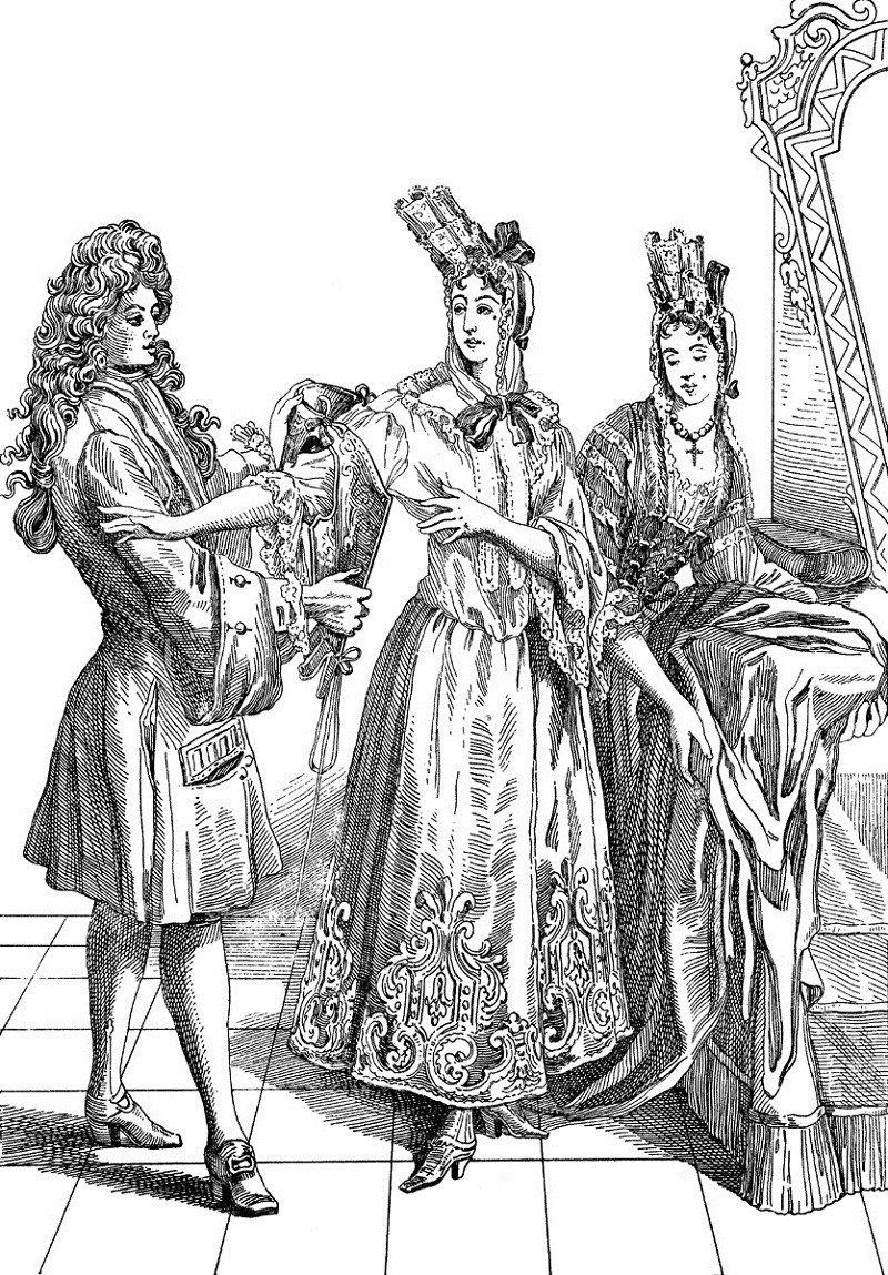 Women's Fashions Fontange Court