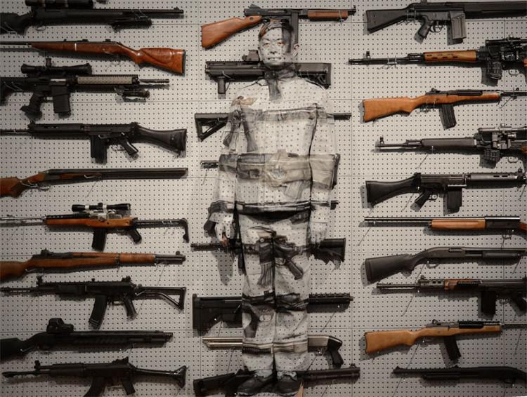 Gun Rack Art 1