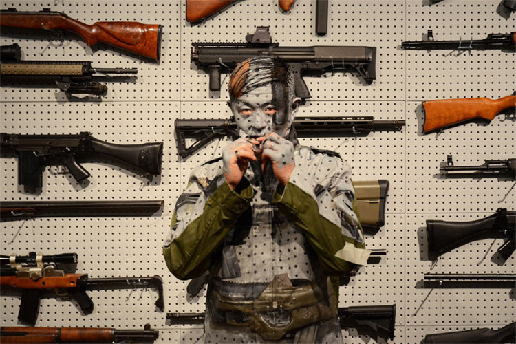 Gun Rack Art 2