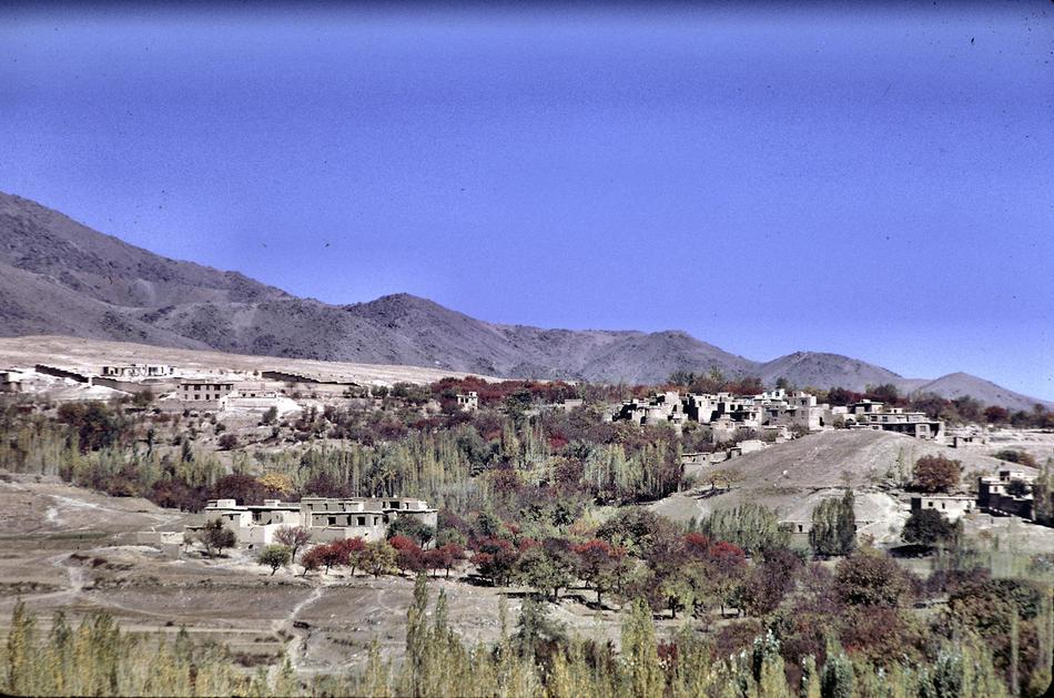 Kabul Hillside In The 1960s