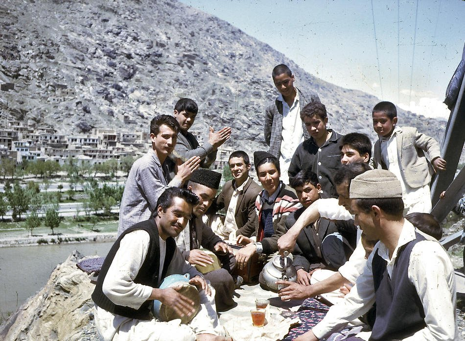 Picnic In Afghanistan In The 1960s