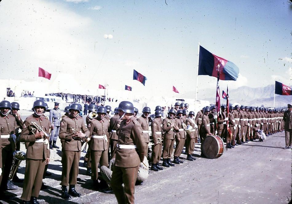 Afghani Military Band 1960s