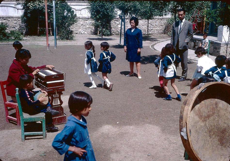 School In 1960s Afghanistan