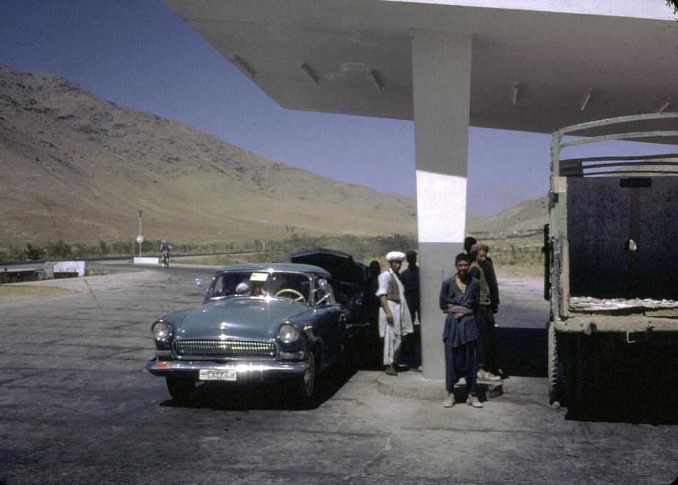 Kabul Gas Station