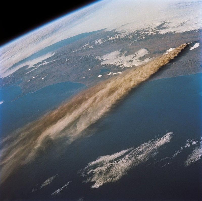 Aerial Volcano 1