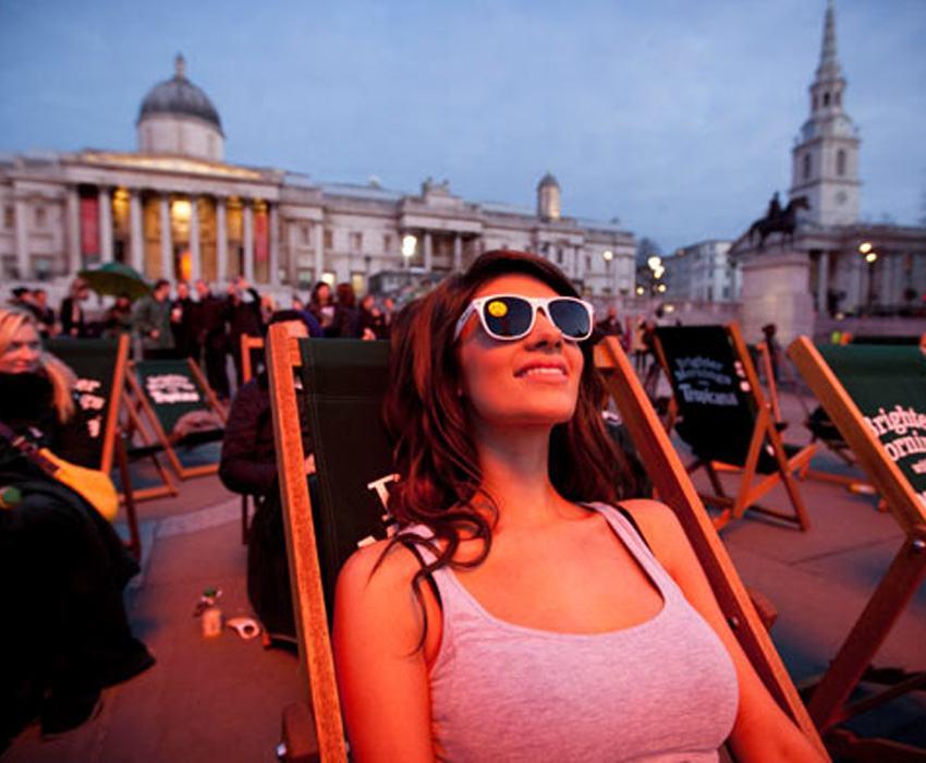 Bizarre PR Stunts London Sun 2