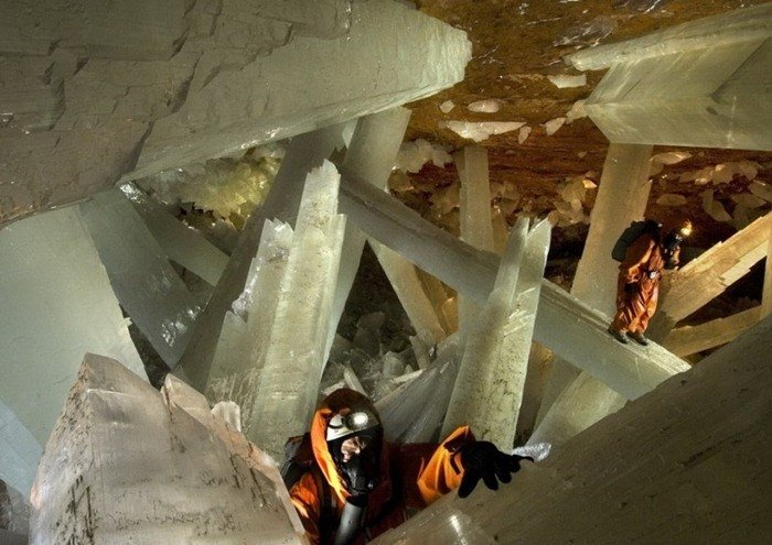 Crystal Cave In Chihuahua
