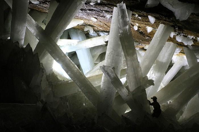 La Cueva de los Cristales In Mexico