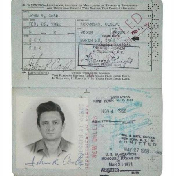 Celeb Passports 1