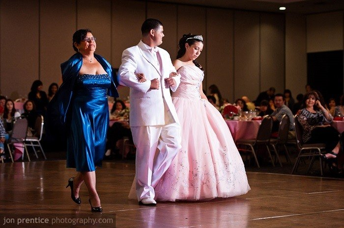 Coming Of Age Traditions Quinceanera Father Daughter